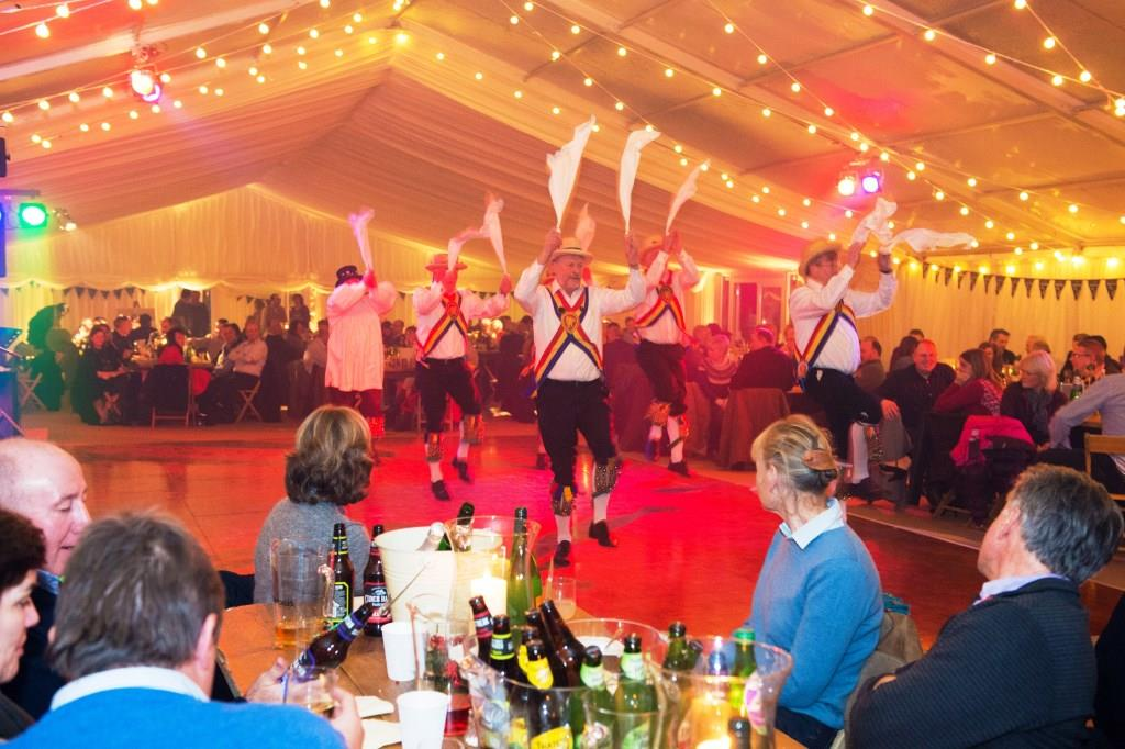Entertainment is in full swing at this marquee event