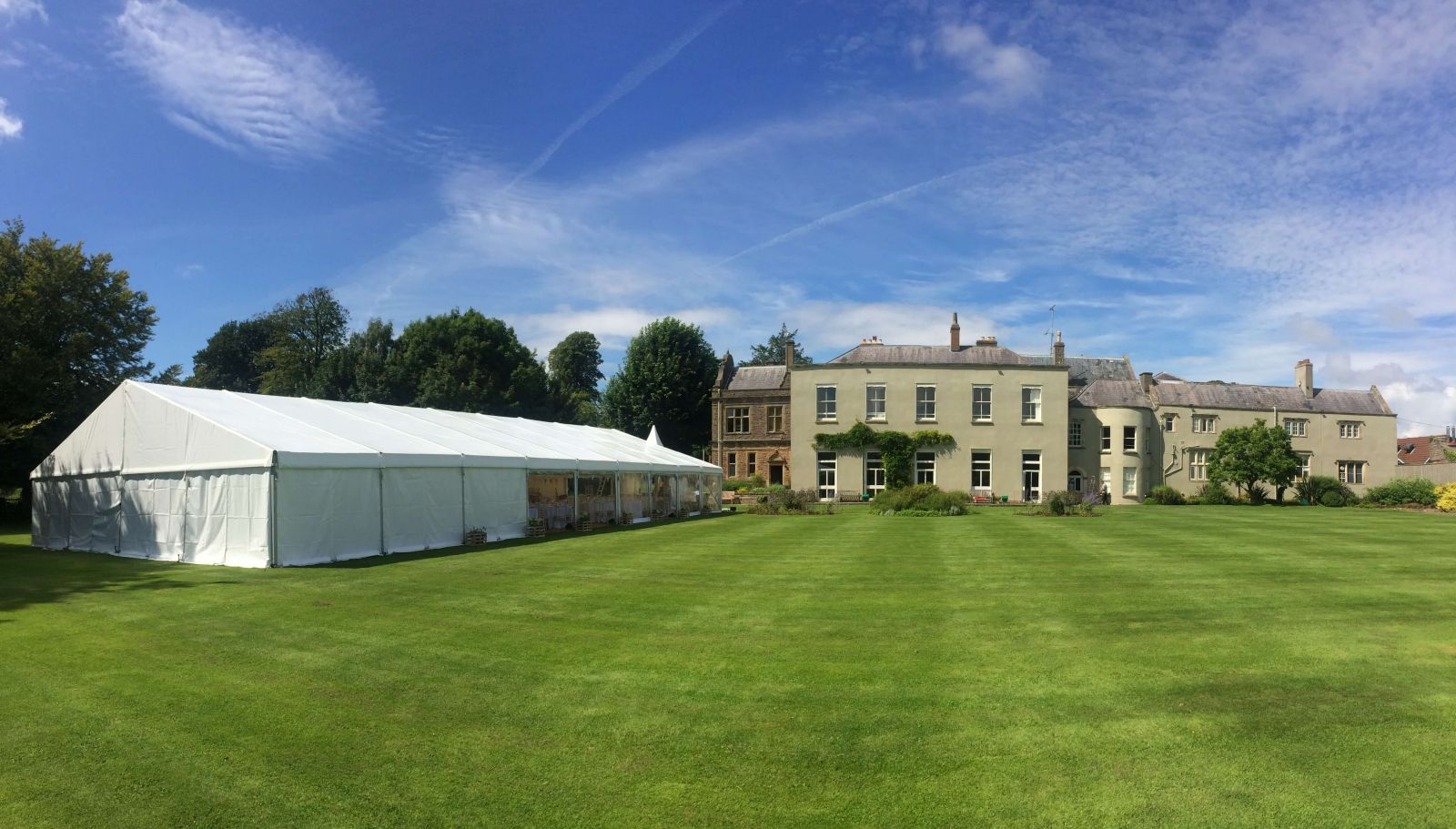 The Downs School, a stunning setting for any marquee wedding