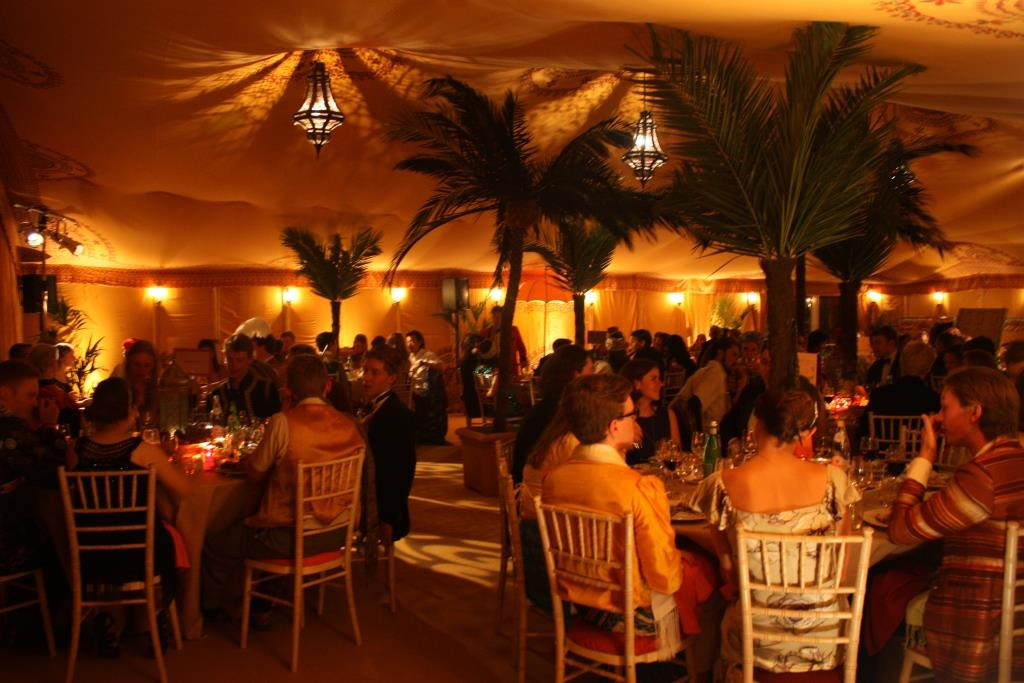 Warm lighting used to make guests feel like they are in a tropic country as opposed to a location in the South West