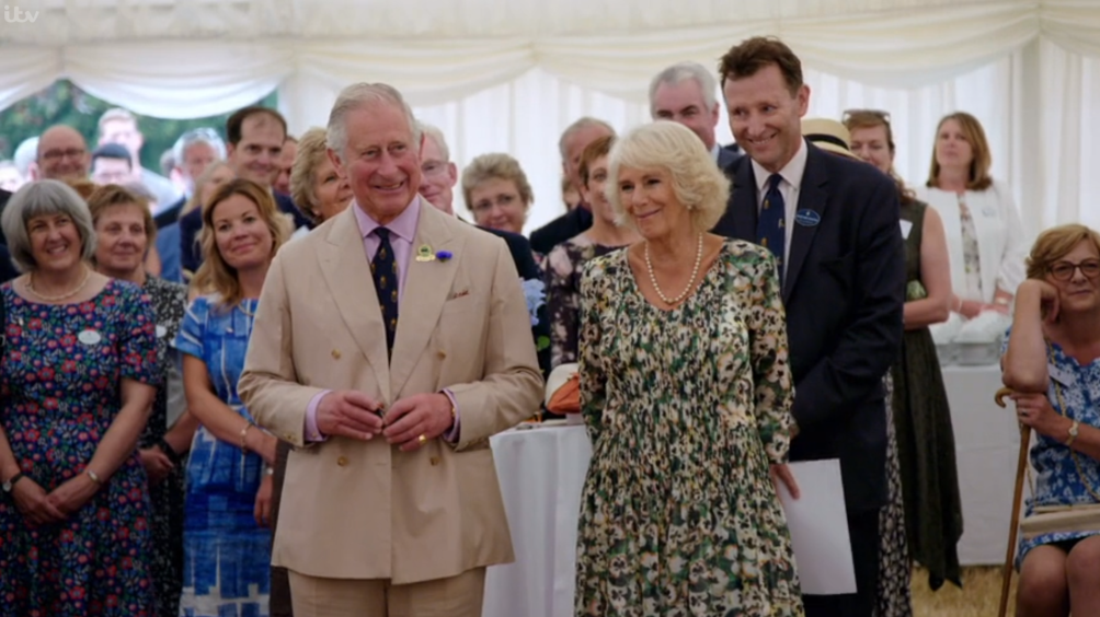 Prince Charles: Inside the Duchy of Cornwall - Charles and Camilla smiling