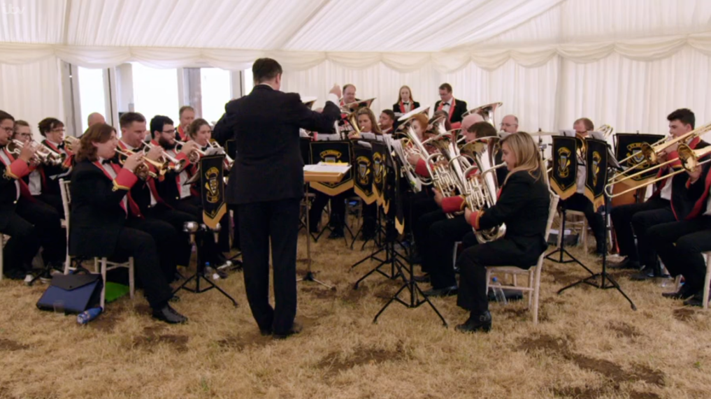 Prince Charles: Inside the Duchy of Cornwall Band in the Marquee