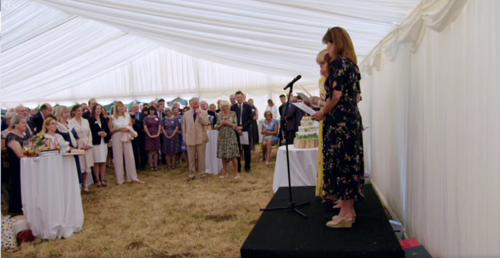 Prince Charles: Inside the Duchy of Cornwall Speeches in the Marquee